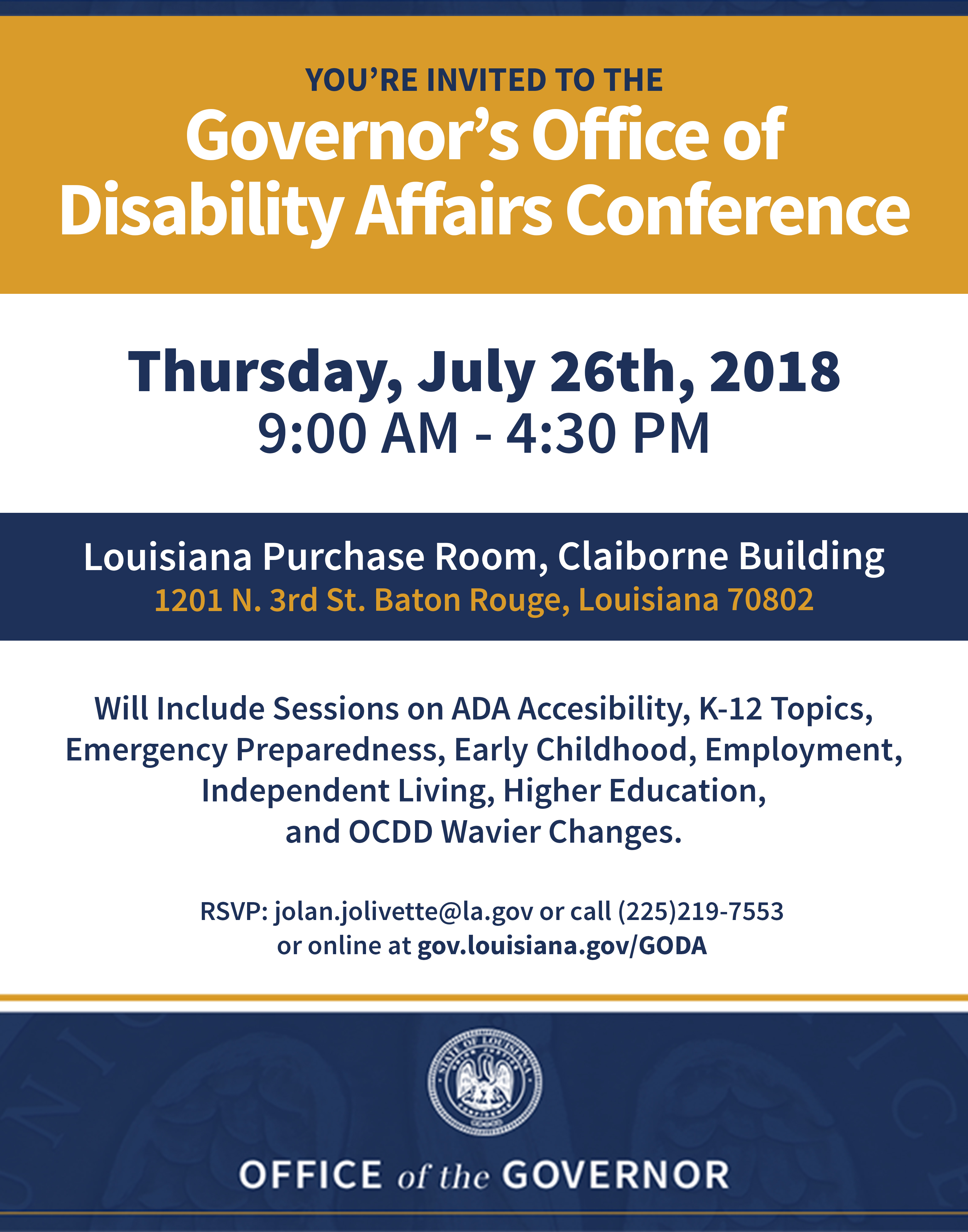Governors Office Of Disability Affairs Newsletter June 2018
